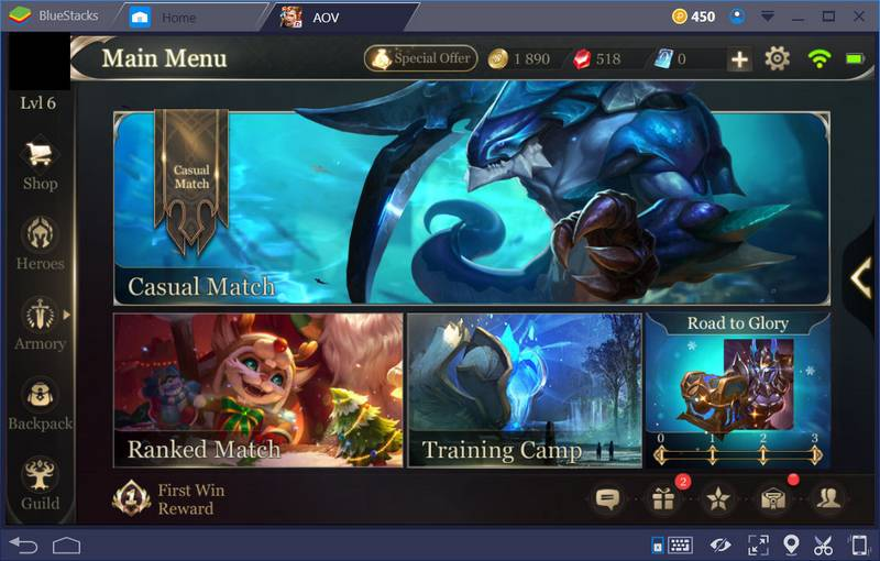 Garena: Arena of Valor for PC